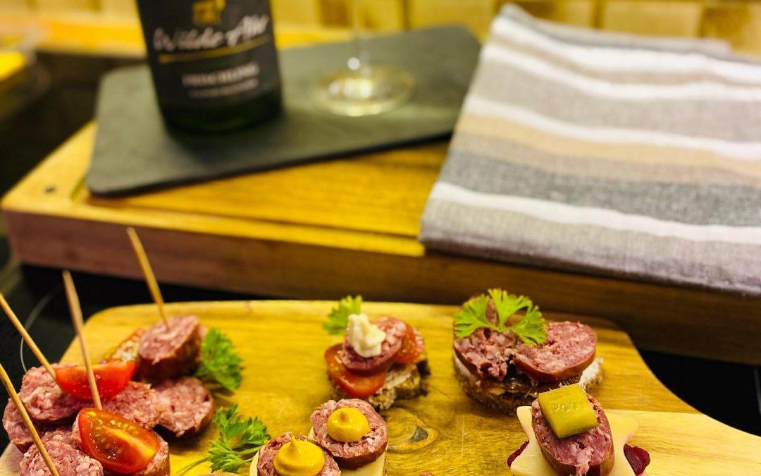Herzhafte Wildpralinen für deine Weinparty!🍧🍷